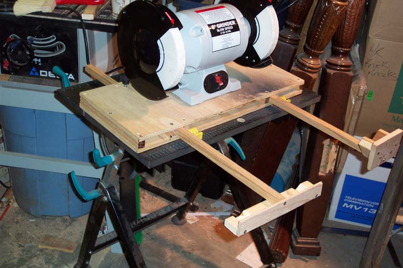 Lathe Tool Sharpening Jig Badger Woodworks