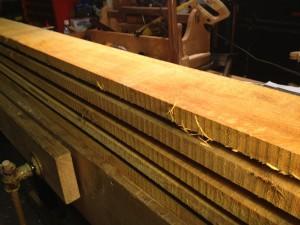 Alder boards
