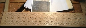 Finished Carving - My version of the PF/Savell pattern.